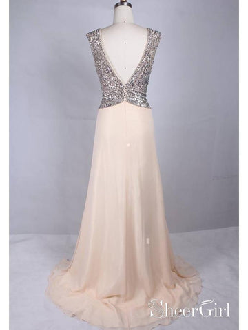 products/silver-sequin-formal-dresses-modest-peach-wedding-guest-dresses-for-summer-apd3487-2.jpg