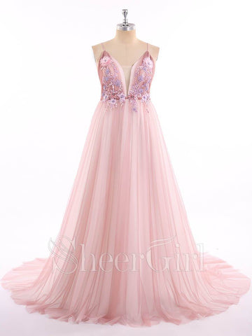 products/spaghetti-strap-deep-v-neck-sexy-pink-prom-dresses-with-train-ard1818-2.jpg