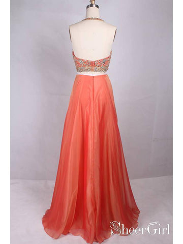 products/two-piece-plus-size-formal-dresses-rhinestone-coral-wedding-guest-dresses-apd3490-2.jpg