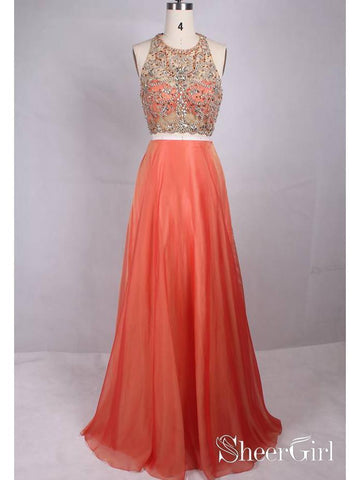 products/two-piece-plus-size-formal-dresses-rhinestone-coral-wedding-guest-dresses-apd3490.jpg
