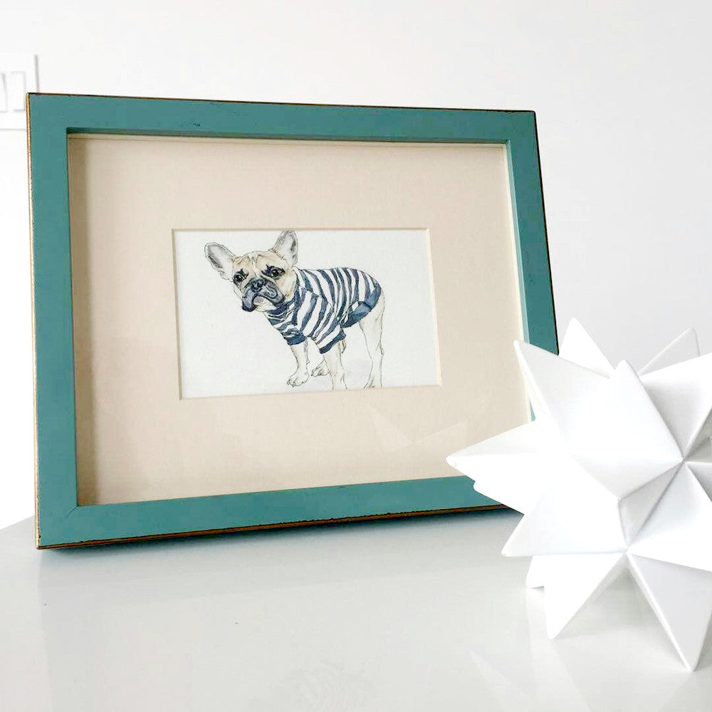 Meet the Dog - Blondie the French Bulldog - Custom Pet Portraits