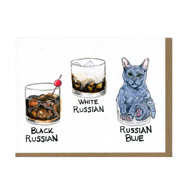 Russian Blue Card