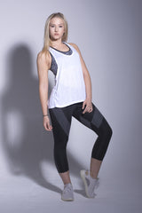 Black Activewear Capri