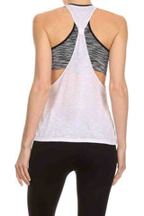 Women Tank tops with Bra Sets
