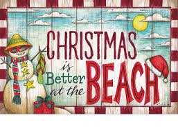 Christmas is Better at the Beach!