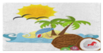 Beachy Girl Designs Coconuts Beach Towel, (product type), (product vendor), (shop name)- Beachy Girl Designs
