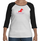 Ladies' 3/4 Raglan Sleeve T-Shirt, (product type), (product vendor), (shop name)- Beachy Girl Designs