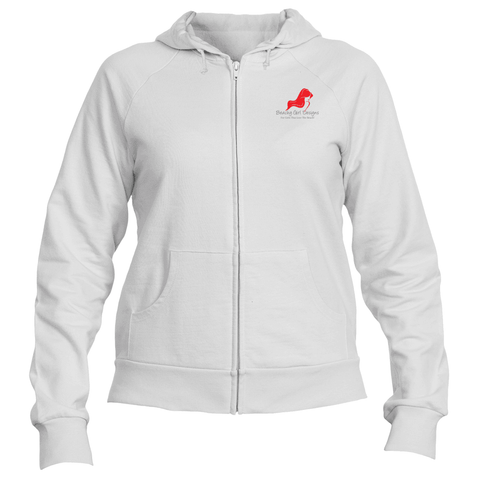 Full Zip Hooded Fleece Sweatshirt, (product type), (product vendor), (shop name)- Beachy Girl Designs