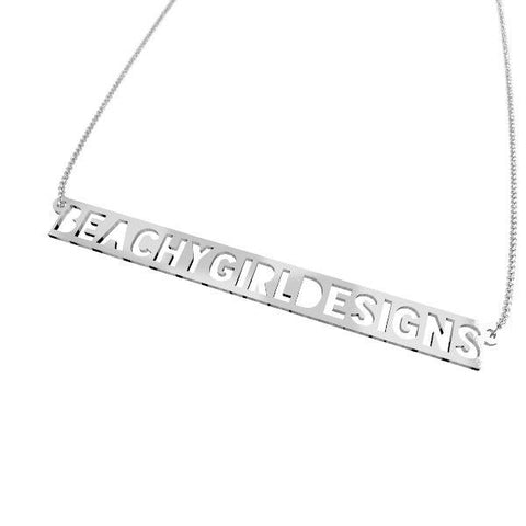Beachy Girl Designs-Blockout Necklace, (product type), (product vendor), (shop name)- Beachy Girl Designs
