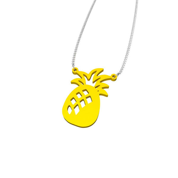 Beachy Girl Designs Pineapple Necklace, (product type), (product vendor), (shop name)- Beachy Girl Designs