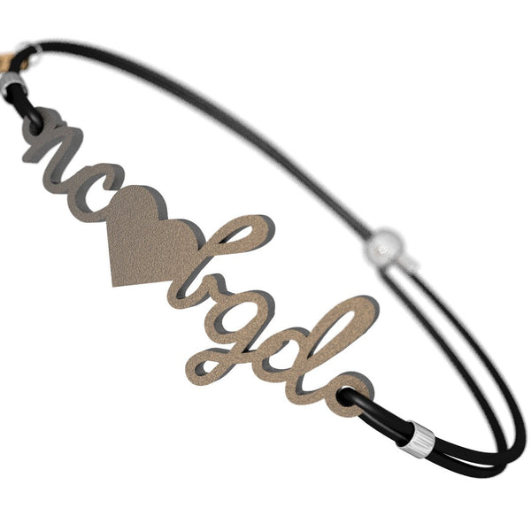 North Carolina Loves BGD Bracelet, (product type), (product vendor), (shop name)- Beachy Girl Designs