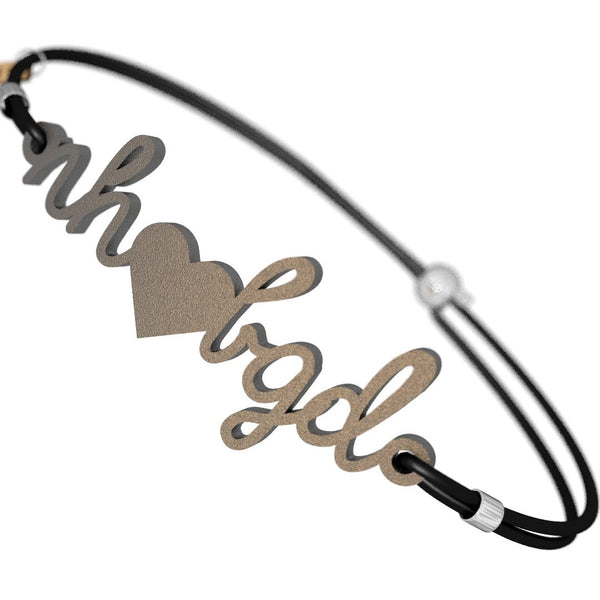 New Hampshire Loves BGD Bracelet, (product type), (product vendor), (shop name)- Beachy Girl Designs