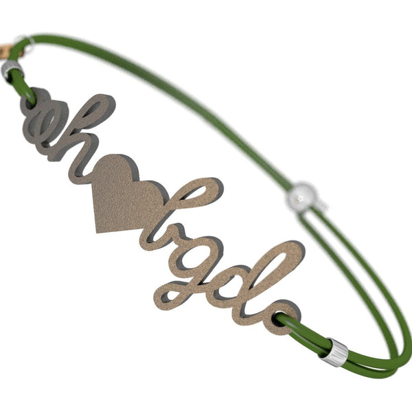 Ohio Loves BGD Bracelet, (product type), (product vendor), (shop name)- Beachy Girl Designs