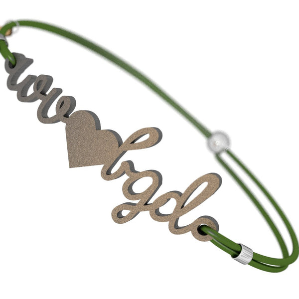 West Virginia Loves BGD Bracelet, (product type), (product vendor), (shop name)- Beachy Girl Designs