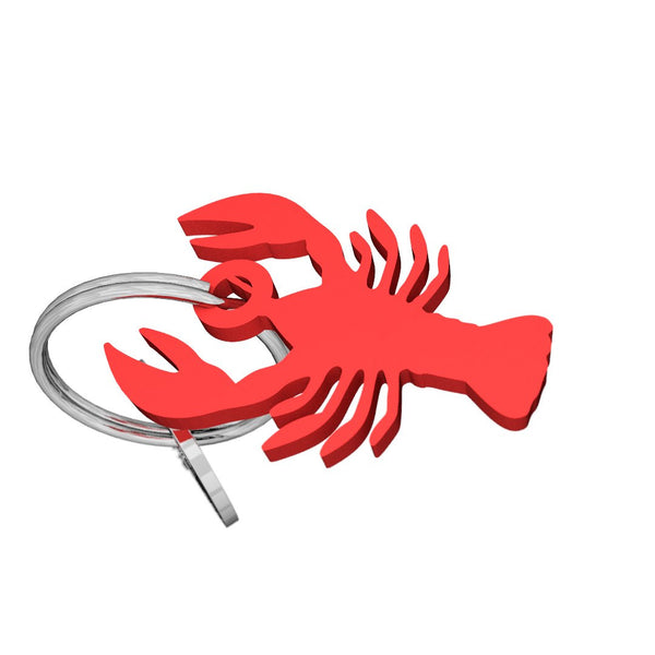 Sea Life-Lobster Keychain, (product type), (product vendor), (shop name)- Beachy Girl Designs