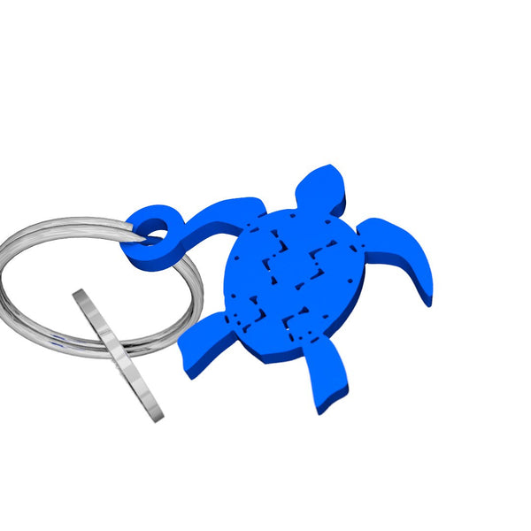 Sea Life-Sea Turtle Keychain, (product type), (product vendor), (shop name)- Beachy Girl Designs