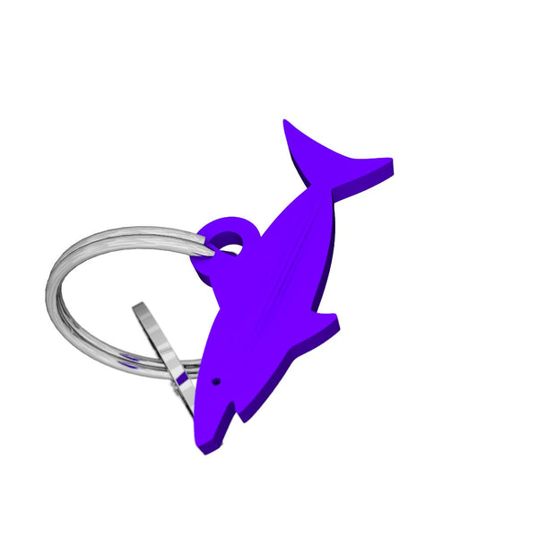 Sea Life-Shark Keychain, (product type), (product vendor), (shop name)- Beachy Girl Designs
