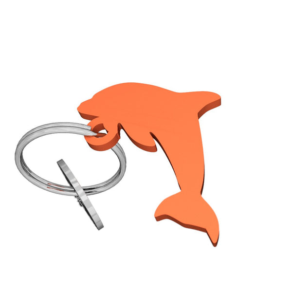 Sea Life-Dolphin Keychain, (product type), (product vendor), (shop name)- Beachy Girl Designs
