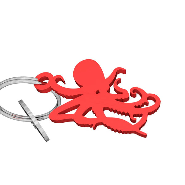 Sea Life-Octopus Keychain, (product type), (product vendor), (shop name)- Beachy Girl Designs