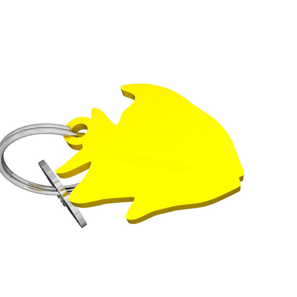 Sea Life-Angelfish Keychain, (product type), (product vendor), (shop name)- Beachy Girl Designs