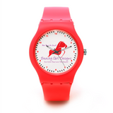 Meet Me at the Beach Custom Plastic Watch