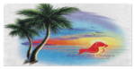 Beach Scene Beach Towel, (product type), (product vendor), (shop name)- Beachy Girl Designs