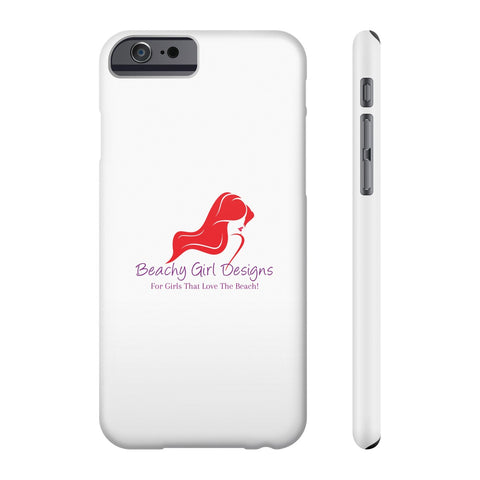 Beachy Girl Designs Phone Case