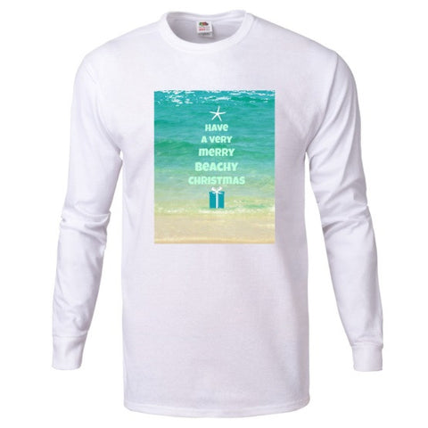 Have a Very Beachy Christmas Long Sleeve T-Shirt