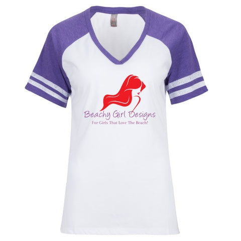 BGD V Neck Raglan T-Shirt