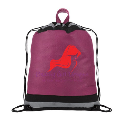 BGD Drawstring Cinch Backpack