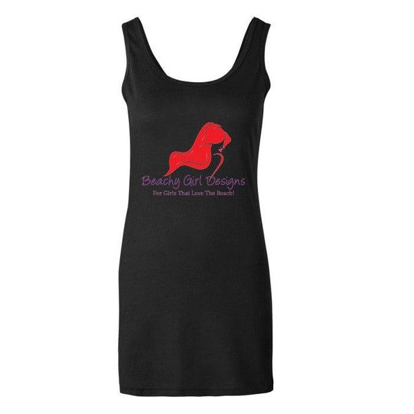 Canvas Ladies' Jersey Tank Dress, (product type), (product vendor), (shop name)- Beachy Girl Designs
