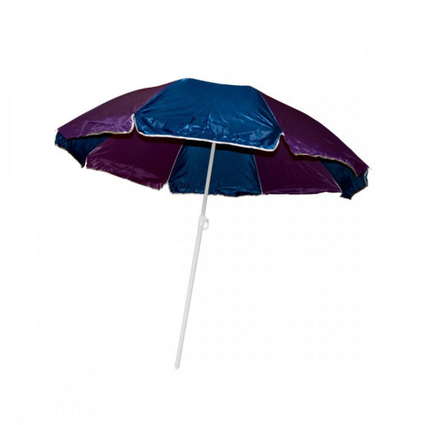 Large Beach Umbrella With Two Part Pole, (product type), (product vendor), (shop name)- Beachy Girl Designs