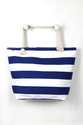 Oversized Stripes Tote Bag, (product type), (product vendor), (shop name)- Beachy Girl Designs