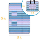 2-in-1 Beachcomber's Blanket XL, (product type), (product vendor), (shop name)- Beachy Girl Designs