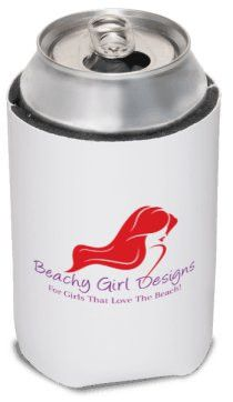 Beachy Girl Designs Can Cooler, (product type), (product vendor), (shop name)- Beachy Girl Designs