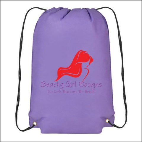 Champion Drawstring Cinch Backpack, (product type), (product vendor), (shop name)- Beachy Girl Designs