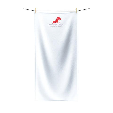 Beachy Girl Designs White Towel