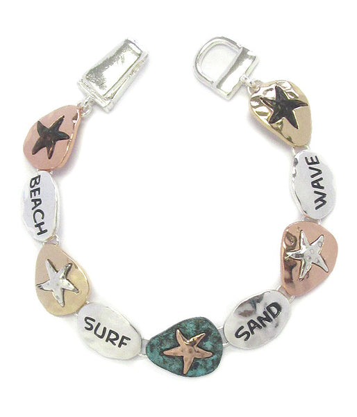 Sea Life Theme Starfish Bracelet