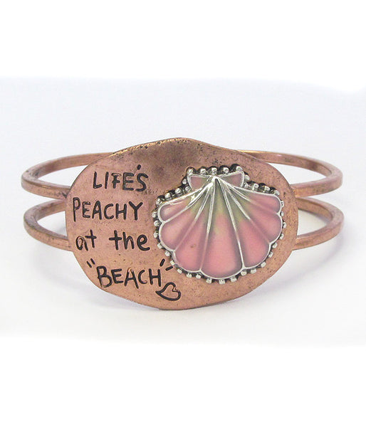 Life's Peachy at the Beach Bracelet