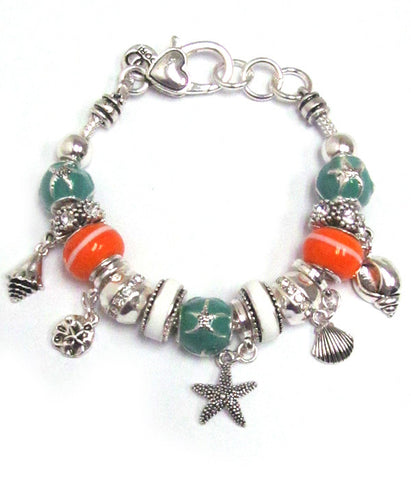 Crystal Sea Life Theme Bracelet