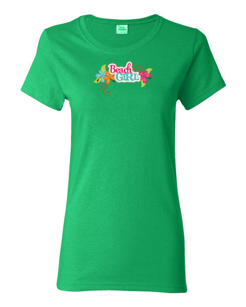 Women's Short Sleeve Beach Girl T-Shirt