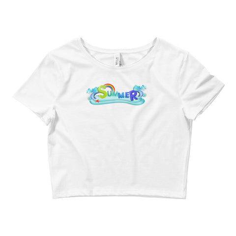 Summer Crop Tee (Back Logo)