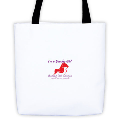 I'm a Beachy Girl Tote Bag, (product type), (product vendor), (shop name)- Beachy Girl Designs