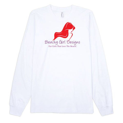 Long Sleeve T-Shirt (unisex), (product type), (product vendor), (shop name)- Beachy Girl Designs