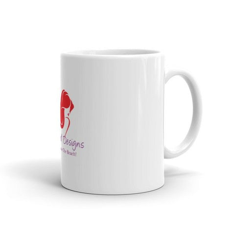 Beachy Girl Designs Coffee Mug, (product type), (product vendor), (shop name)- Beachy Girl Designs