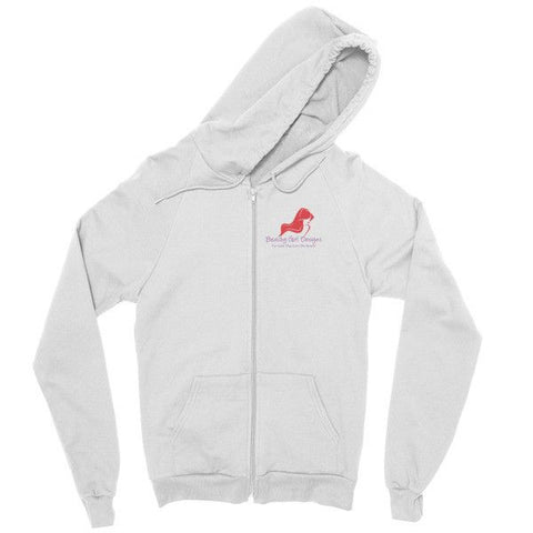 Zip Hoodie, (product type), (product vendor), (shop name)- Beachy Girl Designs