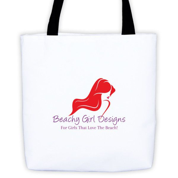 Beachy Girl Designs Tote Bag, (product type), (product vendor), (shop name)- Beachy Girl Designs