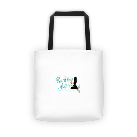 Beach Hair Tote Bag