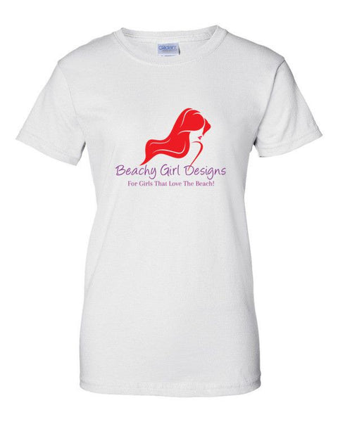 Women's Short Sleeve T-Shirt, (product type), (product vendor), (shop name)- Beachy Girl Designs