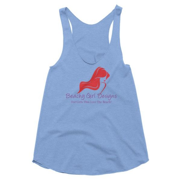 Women's Racerback Tank, (product type), (product vendor), (shop name)- Beachy Girl Designs